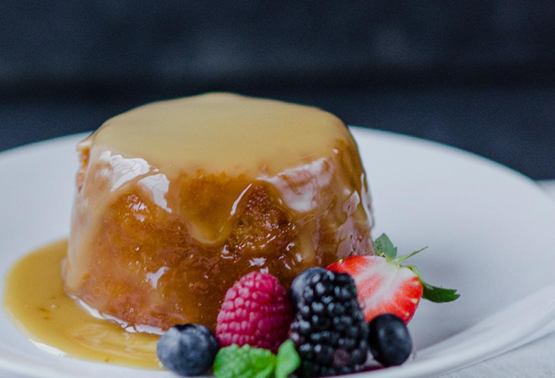 Butterscotch and Treacle Pudding