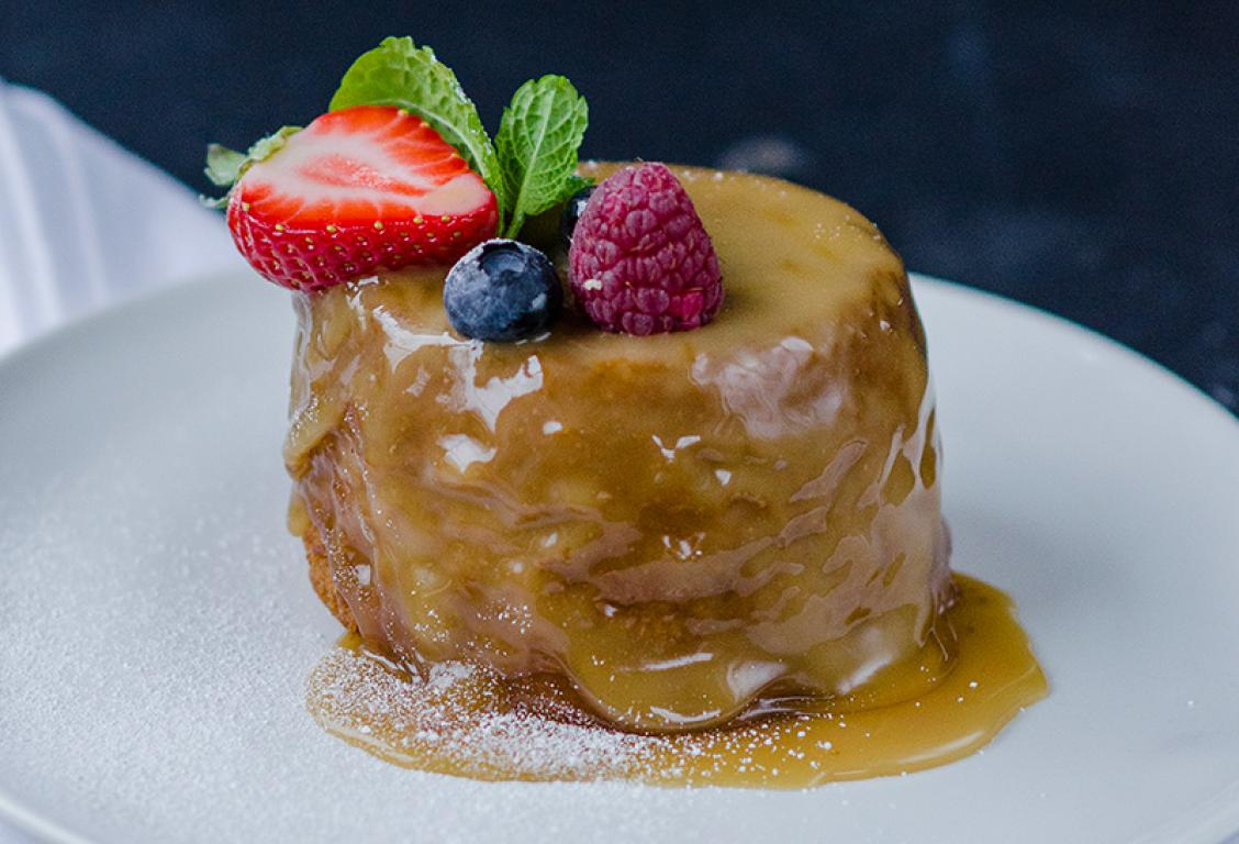 Honey and Cinnamon Pudding