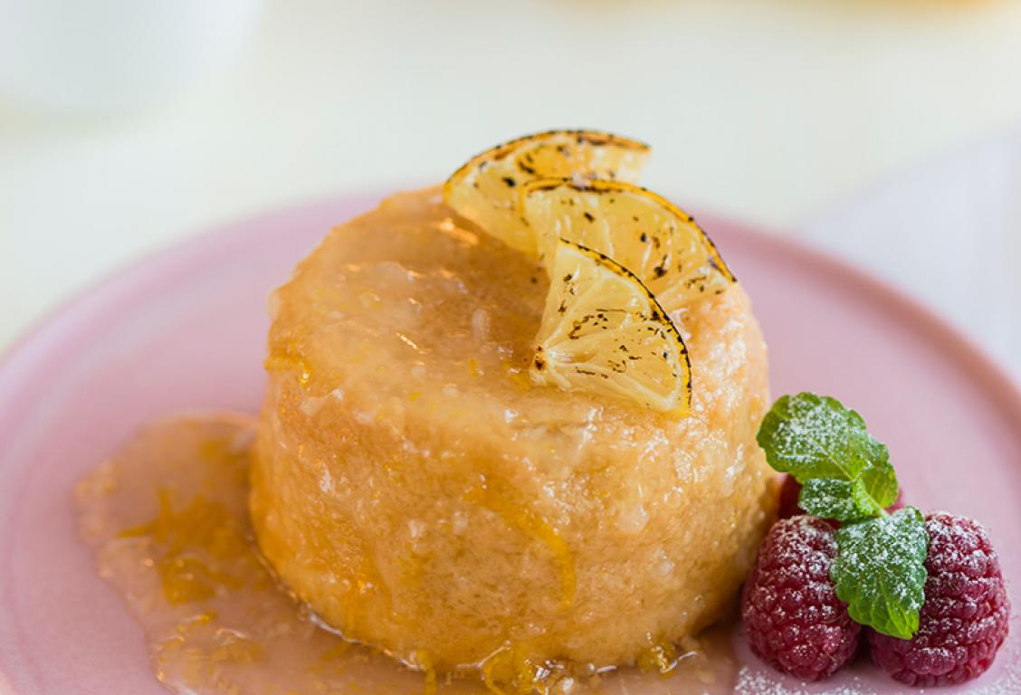 Siciliian Lemon Pudding