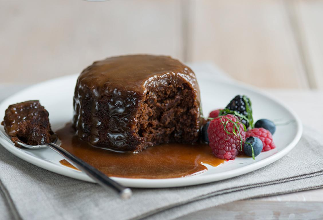 Sticky Toffee Pudding with Butterscotch