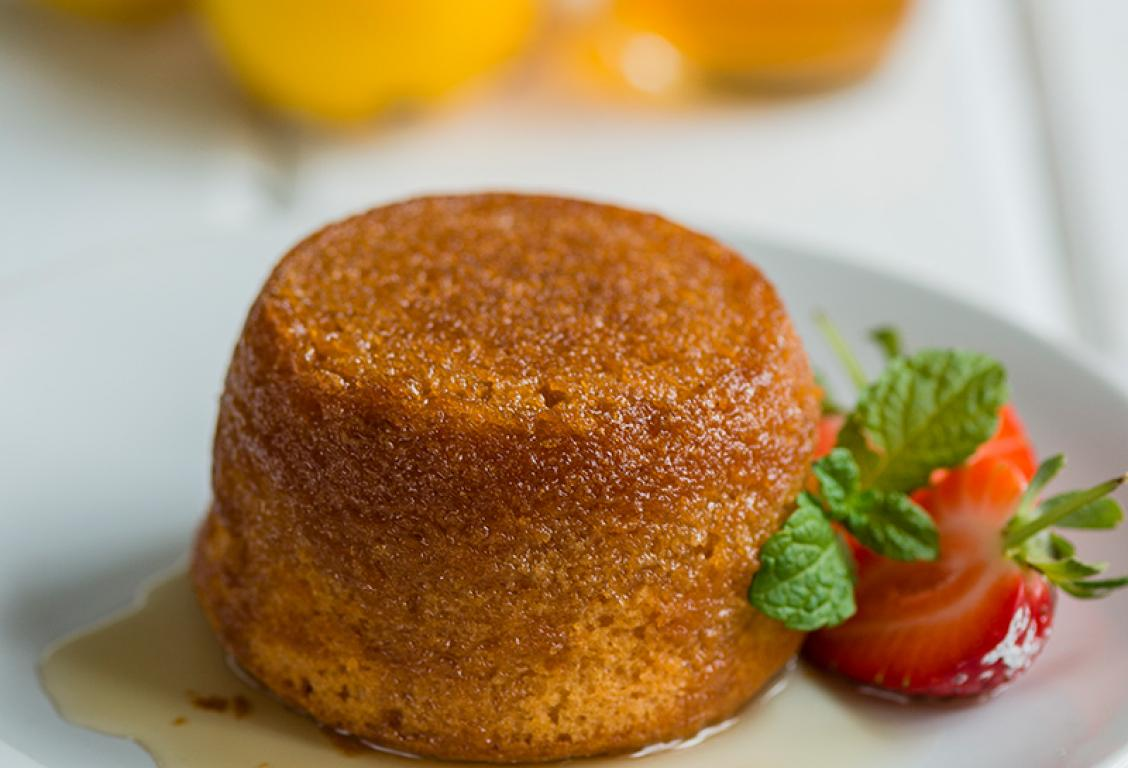 Golden Syrup Pudding