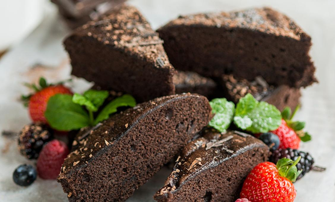 Chocolate Brownie Traybake